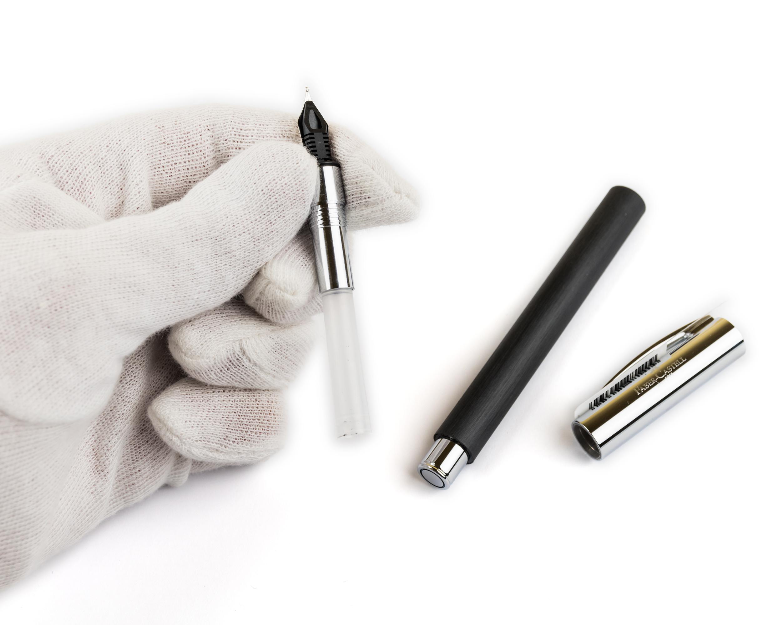 Faber Castell Ambition Black M Fountain Pen Scribemarket